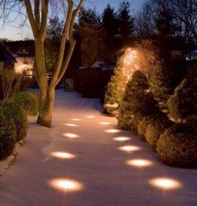 Ứng dụng của đèn LED âm đất tròn 18W - Ảnh 2