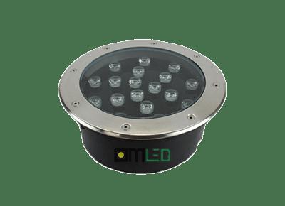 Đèn LED âm đất tròn 18W