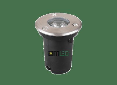 Đèn LED âm đất tròn 1W