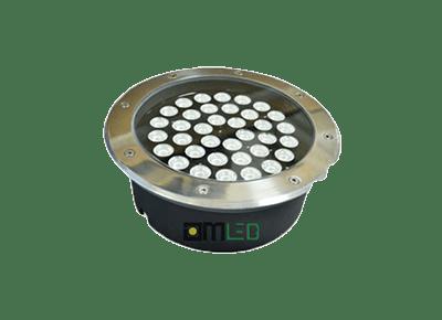 Đèn LED âm đất tròn 36W