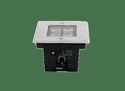 Đèn LED âm đất vuông 4W