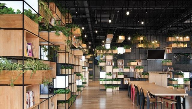 Cách thiết kế ánh sáng và trang trí quán cafe tuyệt đẹp - Ảnh 5