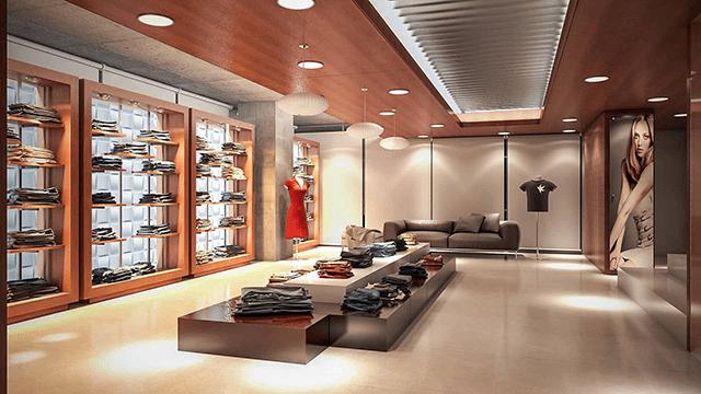 Cách trang trí shop thời trang bằng đèn LED cực ấn tượng - Ảnh 3