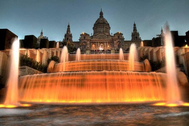 Giải pháp chiếu sáng đài phun nước nghệ thuật - Ảnh 1