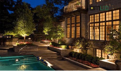 Thiết kế hệ thống đèn chiếu sáng sân vườn đẹp lung linh - Ảnh 2