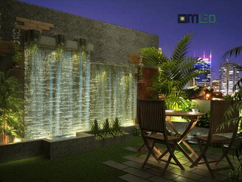 Thiết kế hệ thống đèn chiếu sáng sân vườn đẹp lung linh - Ảnh 3