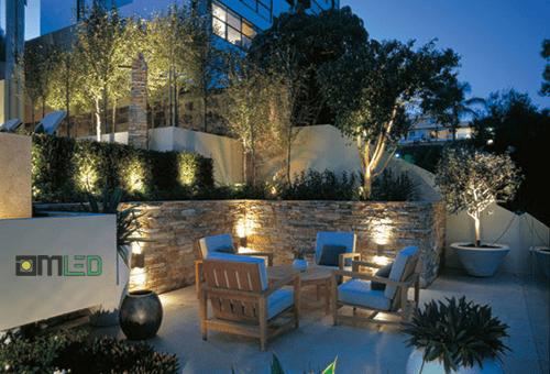 Thiết kế hệ thống đèn chiếu sáng sân vườn đẹp lung linh - Ảnh 4