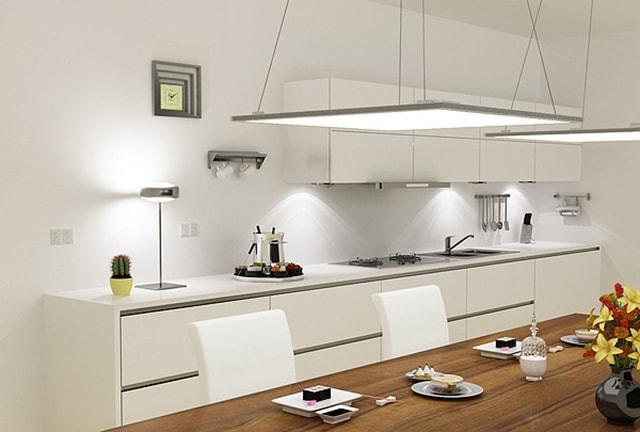 Cách thiết kế chiếu sáng cho nhà bếp thêm ấm cúng - Ảnh 1
