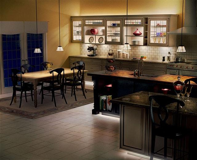 Cách thiết kế chiếu sáng cho nhà bếp thêm ấm cúng - Ảnh 5