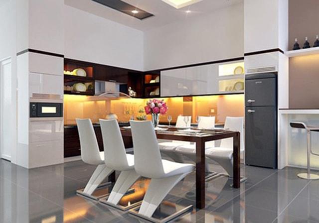 Cách thiết kế chiếu sáng cho nhà bếp thêm ấm cúng - Ảnh 8