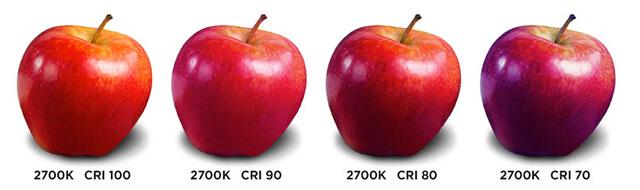 Nhiệt độ màu của đèn LED? Sự khác nhau giữa CCT & CRI? - Ảnh 3