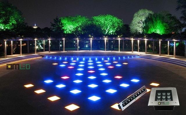 Cung cấp đèn LED cho các công trình tiểu cảnh sân vườn tại Bắc Ninh - Ảnh 2