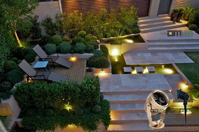 Cung cấp đèn LED cho các công trình tiểu cảnh sân vườn tại Bắc Ninh - Ảnh 5