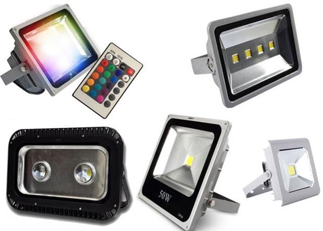 Đèn pha LED ngoài trời là gì? Cấu tạo, Ưu điểm và Ứng dụng - Ảnh 1
