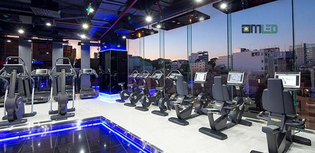 Giải pháp năng lượng hiệu quả cho phòng tập thể hình ( Gym)