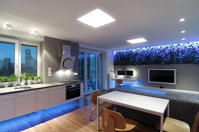 Những lí do khiến đèn LED lên ngôi trong chiếu sáng nội thất