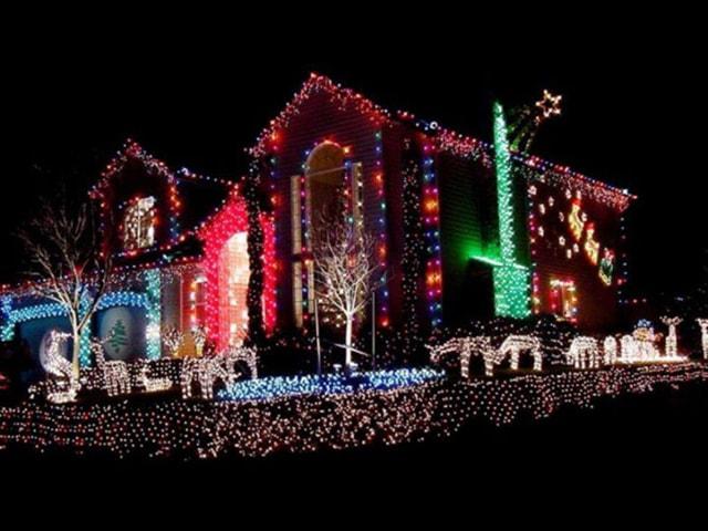 Những ý tưởng chiếu sáng ngoài trời tuyệt đẹp trong đêm giáng sinh - Ảnh 15