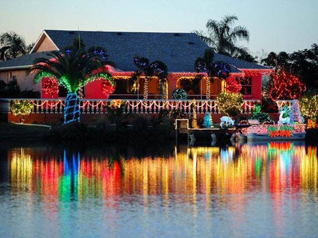 Những ý tưởng chiếu sáng ngoài trời tuyệt đẹp trong đêm giáng sinh - Ảnh 16