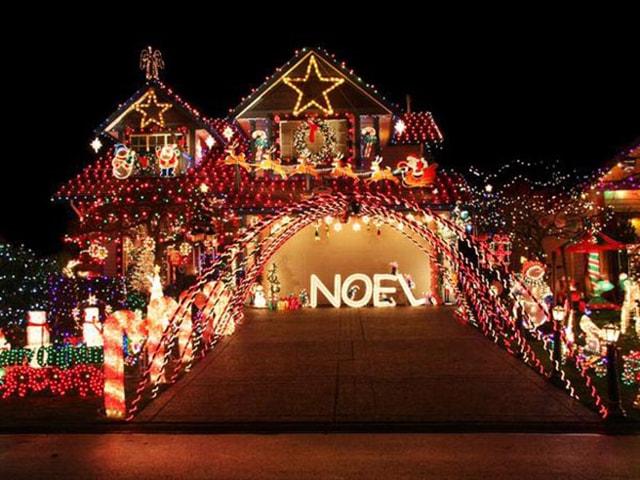 Những ý tưởng chiếu sáng ngoài trời tuyệt đẹp trong đêm giáng sinh - Ảnh 18