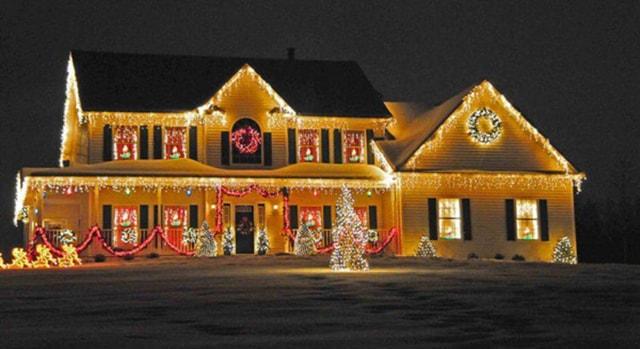 Những ý tưởng chiếu sáng ngoài trời tuyệt đẹp trong đêm giáng sinh - Ảnh 5