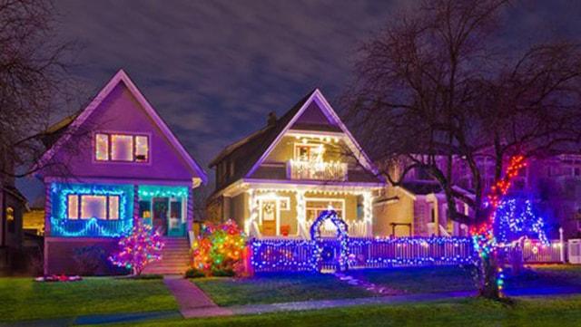 Những ý tưởng chiếu sáng ngoài trời tuyệt đẹp trong đêm giáng sinh - Ảnh 6