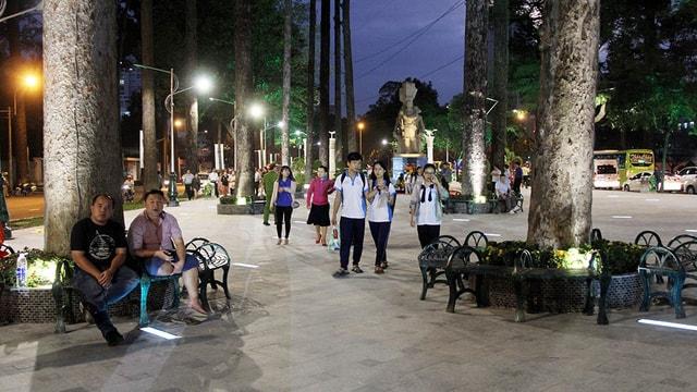 Omled góp phần biến công viên Văn Lang thành quảng trường nhạc nước - Ảnh 1